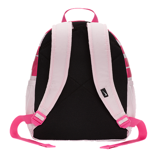 674615ff9cc31 Nike Kids  Brasilia Just Do It Mini Backpack - Pink Foam. (0). View  Description