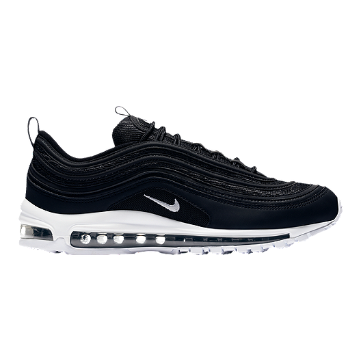 Nike Men's Air Max 97 Shoes BlackWhite
