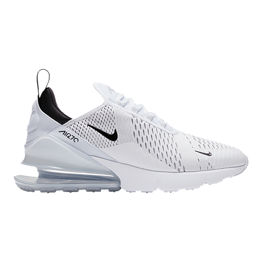 796010ee0 Nike Men's Air Max 270 Shoes - White/Black | Sport Chek