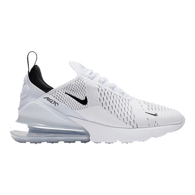 Elementare Travolgente corto  Nike Men's Air Max 270 Shoes - White/Black | Sport Chek