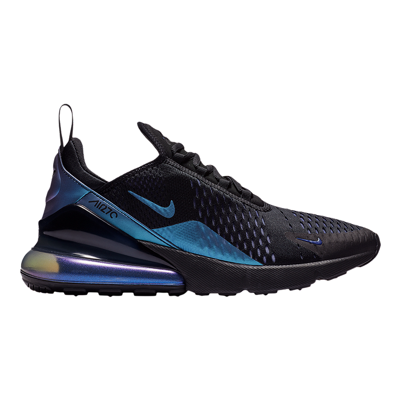 super popular b74d2 8e398 Nike Men's Air Max 270 Shoes - Black/Purple