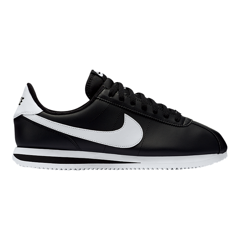 buy popular b1b5a fdb21 Nike Men's Cortez Shoes - Black/White