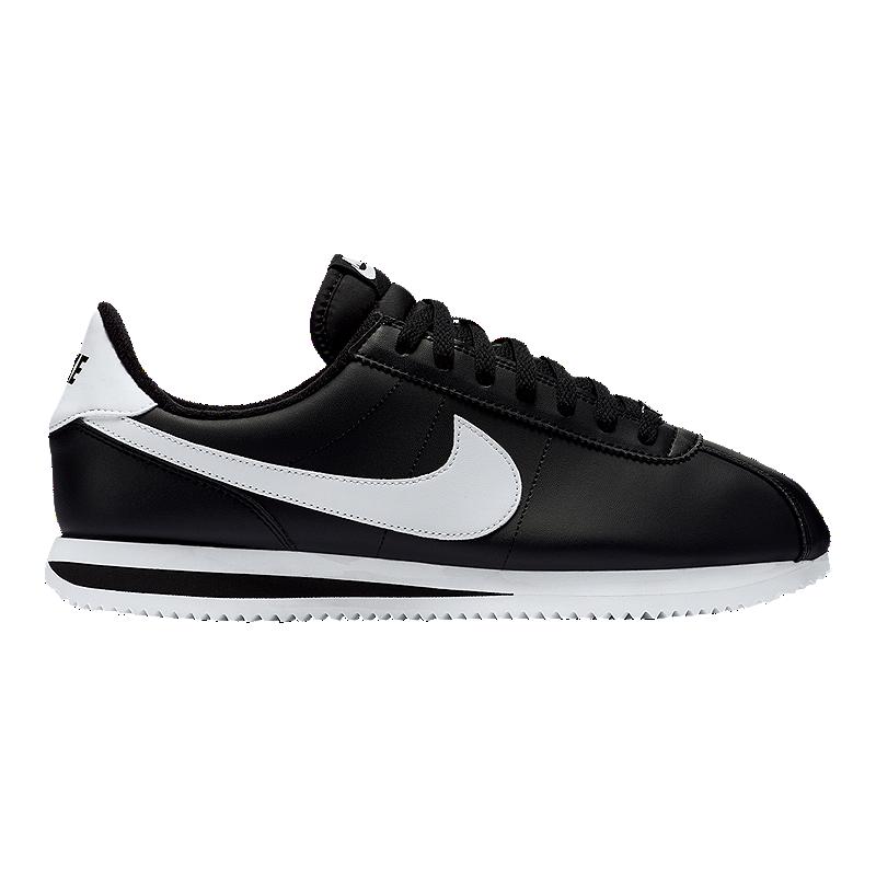 buy popular 98f5d a8746 Nike Men's Cortez Shoes - Black/White