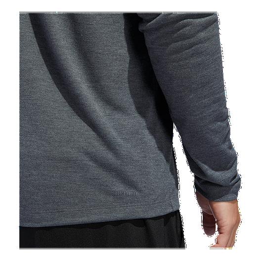 2b22ece77936 adidas Men's Freelift Tech Easy Hooded Long Sleeve Shirt