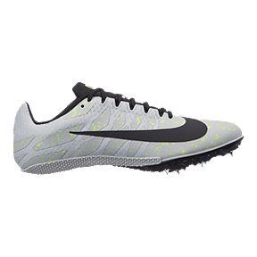 Nike Women s Zoom Rival S 9 Running Shoes - Pure Platinum Black Volt 217d2c65a