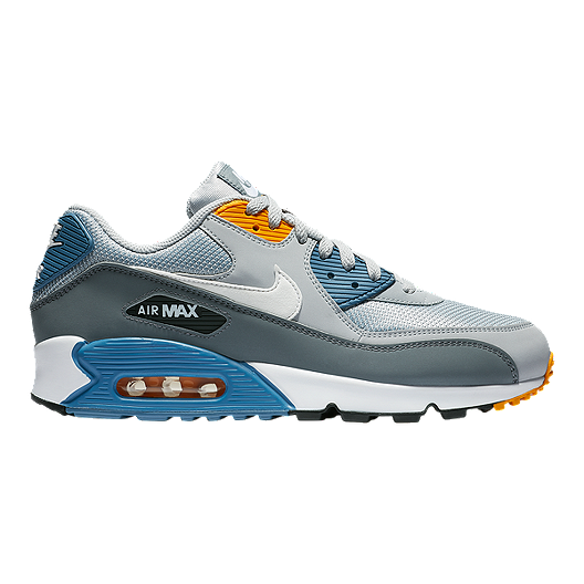c18899c94a Nike Men's Air Max 90 Essential Shoes - Wolf Grey/White/Indigo | Sport Chek