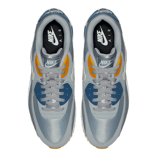 best sneakers 74bea b6c64 Nike Men s Air Max 90 Essential Shoes - Wolf Grey White Indigo. (0). View  Description