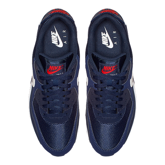 Nike Air Max 90 Midnight Navy On Feet YouTube