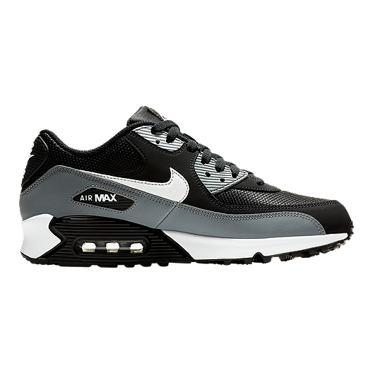 uk availability 33b50 426cf Nike Men s Air Max 90 Essential Shoes - Black White Wolf Grey   Sport Chek