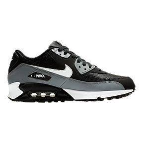 9d1a5b13e0 Nike Men's Air Max 90 Essential Shoes - Black/White/Wolf Grey