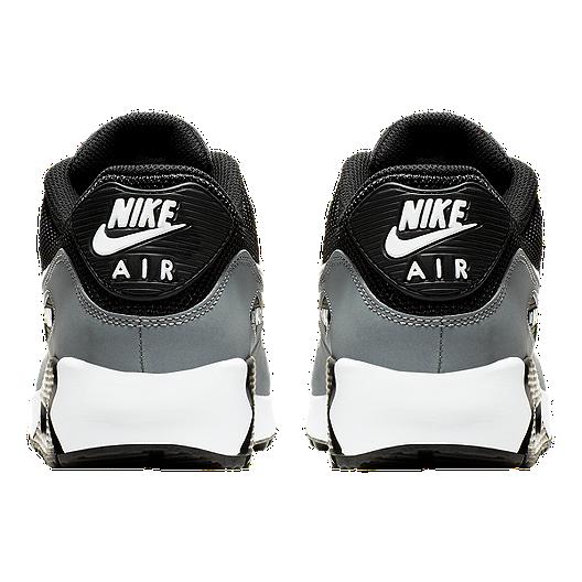 sale retailer f78f9 d0345 Nike Men's Air Max 90 Essential Shoes - Black/White/Wolf ...