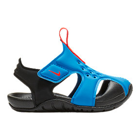 Nike Toddler Sunray Protect 2 Sandals- Blue/Red