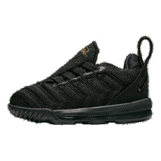 10ff0a00931d Nike Toddler Lebron XVI Shoes - Black Gold
