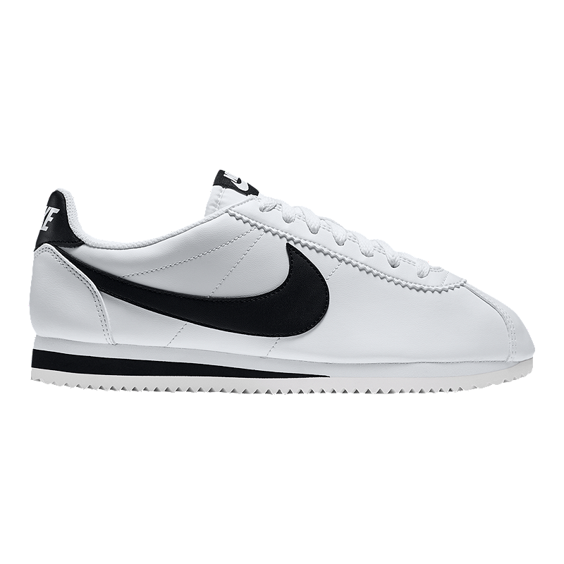 newest 2920f 44d95 Nike Women's Cortez Leather Shoes - White/Black