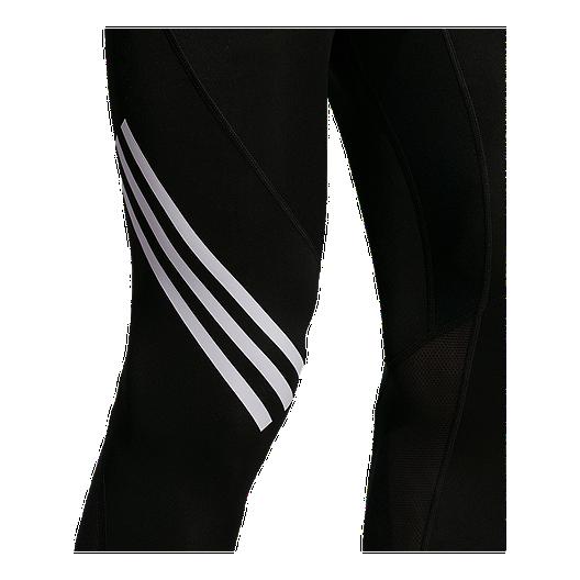 9dc624702a adidas Men's Alphaskin Sport 3 Stripe Compression Tights