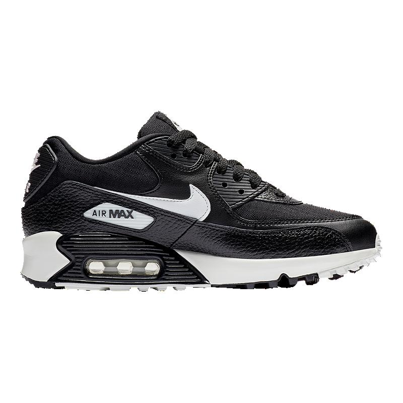online retailer 1d74d e5918 Nike Women s Air Max 90 Shoes - Black Summit White   Sport Chek