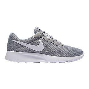 e33de610134 Nike Women s Tanjun Shoes - Wolf Grey White