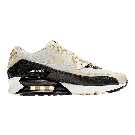 bb3a6d10 Nike Women's Air Max 90 Shoes - Pale Ivory/Summit White/Grey | Sport Chek