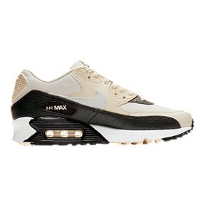 Nike Women s Air Max 90 Shoes - Pale Ivory Summit White Grey 480bf9f71
