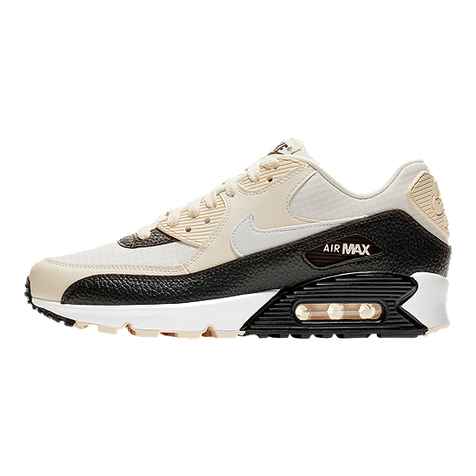 Nike Women's Air Max 90 Shoes Pale IvorySummit WhiteGrey