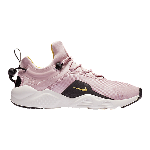16303100379c Nike Women s Air Huarache City Move Shoes - Plum Black White