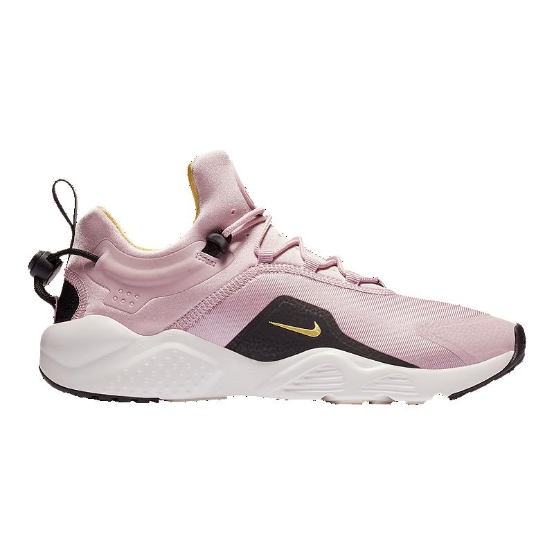 a41ca65b9a Nike Women's Air Huarache City Move Shoes - Plum/Black/White   Sport Chek