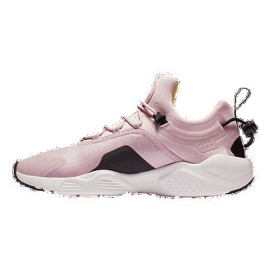 wholesale dealer 3f0fd 62978 Nike Women s Air Huarache City Move Shoes - Plum Black White