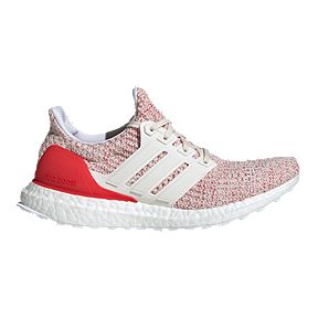 1ce6e51a2fd adidas Women s Ultra Boost Running Shoes - Red White