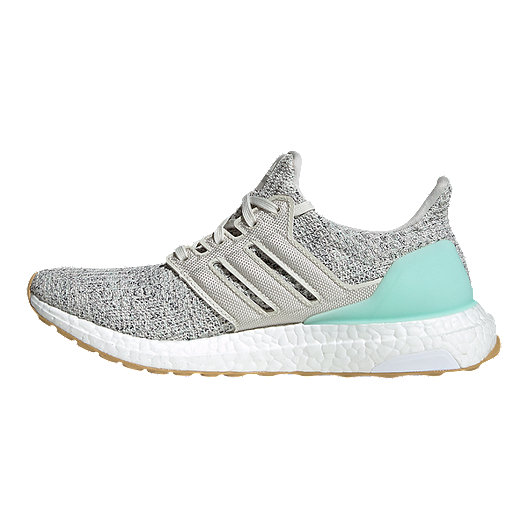 adidas Women's Ultra Boost Running Shoes GreyGreen