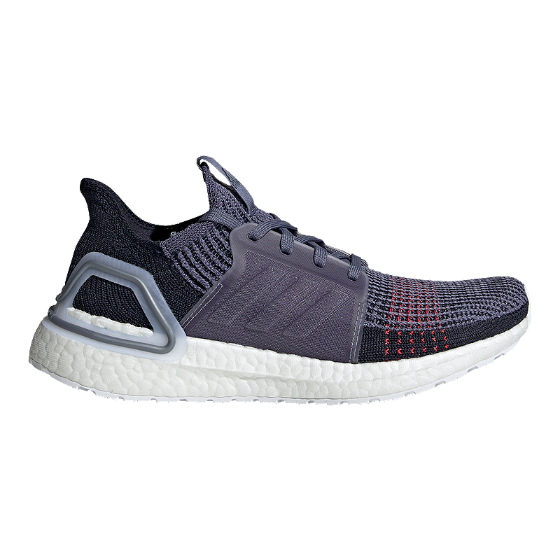 adidas Women s Ultraboost 19 Running Shoes - Indigo  Red  67b68f25f16