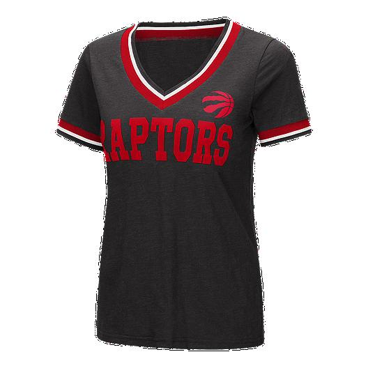 Toronto Raptors Women's Bootleg Short Sleeve Top | Sport Chek