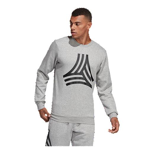 fa8d7e798 adidas Men's Tango Sweatshirt - MEDIUM GREY HEATHER