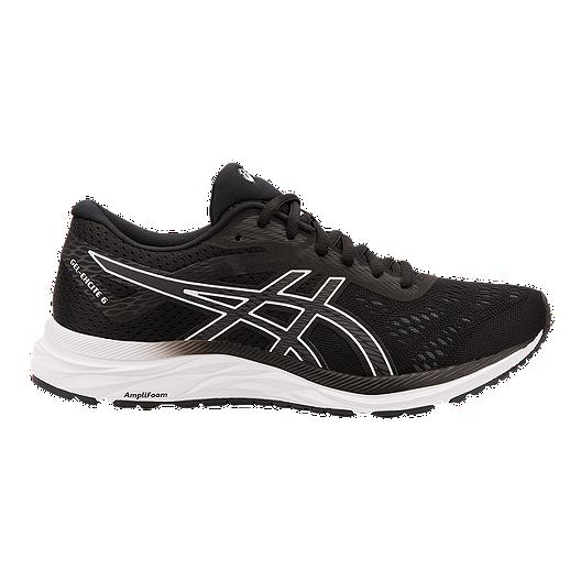 meet 610d1 00cf6 ASICS Women s Gel Excite 6 Running Shoes - Black White   Sport Chek