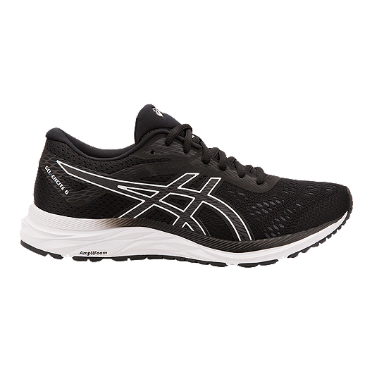 b89cc1aab3c588 ASICS Women's Gel Excite 6 Running Shoes - Black/White | Sport Chek
