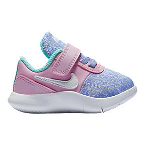 Nike Toddler Flex Contact Shoes- Pink/Purple