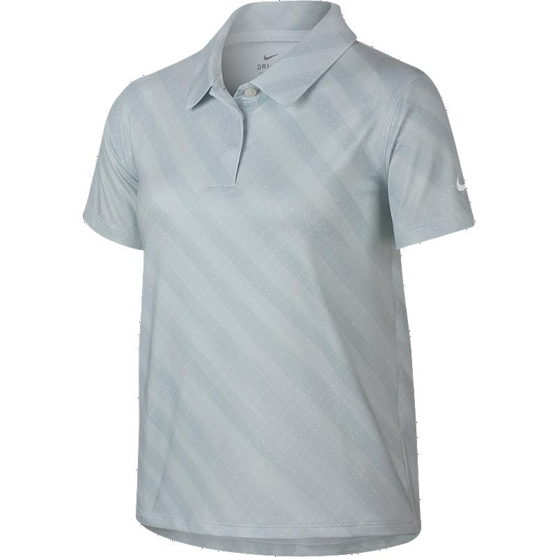 exclusive deals many fashionable performance sportswear Nike Girls' Golf Dry Print Short Sleeve Polo Shirt