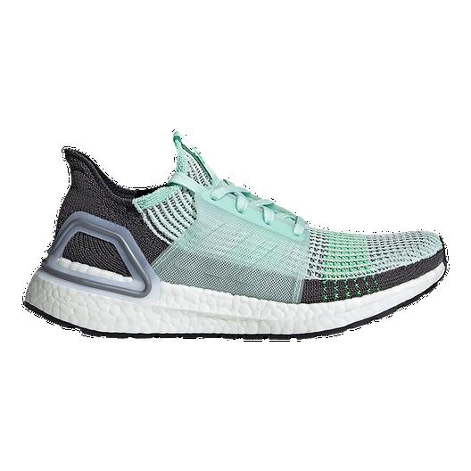 info for 25d93 d9305 adidas Women's Ultra Boost 19 Running Shoes - Green/White/Black