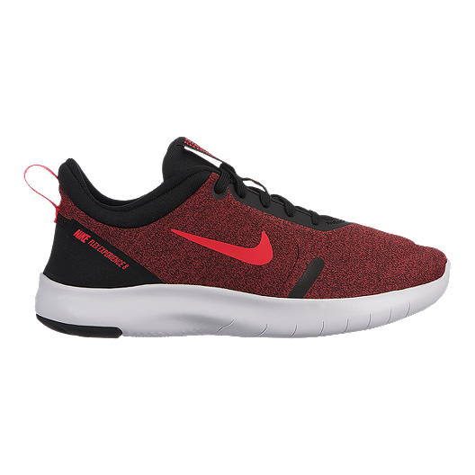 4c7baef73d5f Nike Kids  Flex Experience RN 8 Grade School Shoes - Red Black ...