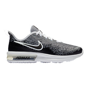 Nike Kids' Air Max Sequent 4 Grade School Shoes - Black/Grey