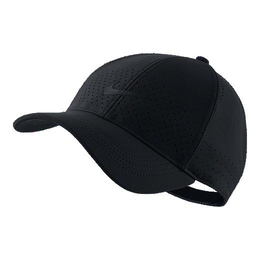 size 40 0941d 538a8 Nike Men s AeroBill Legacy91 Training Hat - BLACK BLACK