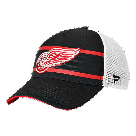 reputable site 811ed 19bb7 Detroit Red Wings Fanatics 2nd Season Trucker Adjustable Cap