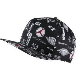 a2942d3fdb69b Nike Men s Jordan Print Snapback Hat - Black