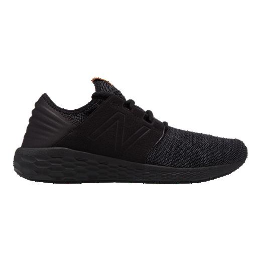 New Balance Men's Cruz V2 Running Shoes   Black by Sport Chek