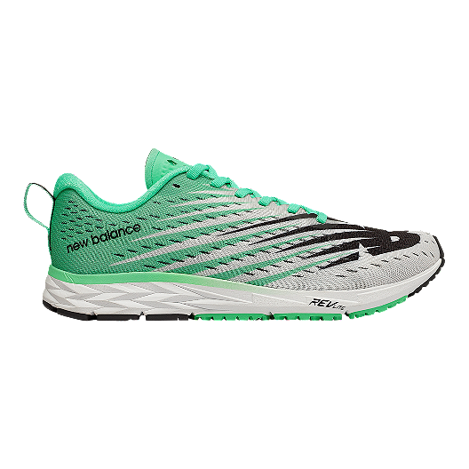 5ad5ebdf3f0 New Balance Women s 1500 V5 Running Shoes - White Neon Emerald ...