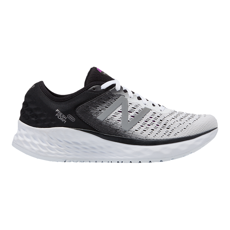 b640a30f1cd6e New Balance Women's 1080 V9 Running Shoes - White/Black | Sport Chek