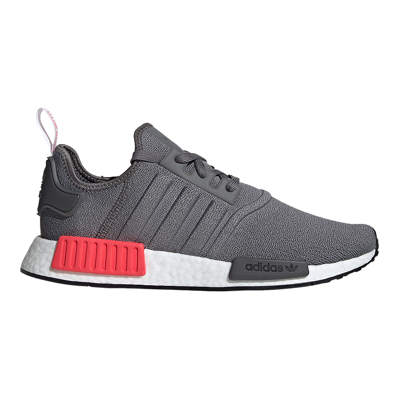 Shoes Red Grey Men's Fourshock Adidas Nmd kn80OXwP
