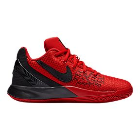 51ac80b94a6 Nike Boys  Grade School Kyrie Flytrap II Basketball Shoes - Red Black