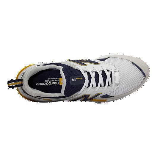 Chek Men's WhiteSport Balance 574s Shoes New Jc3TF5ulK1