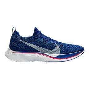 92de6d36e46b Nike Men s Vapor Fly 4 Flyknit Running Shoes - Blue Aqua Red