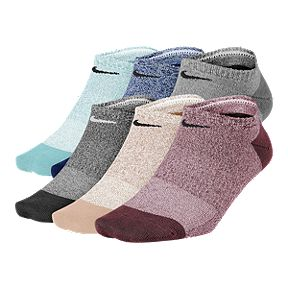 online store 230a7 7b747 Women s Nike Everyday Lightweight No-Show Training Socks (6 Pair)
